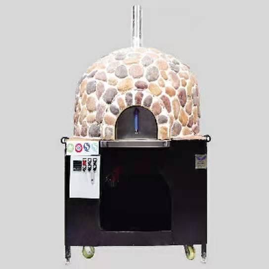 小型燃气披萨烤炉&意大利燃气披萨烤炉(窑式)可烤制2-3个12寸披萨